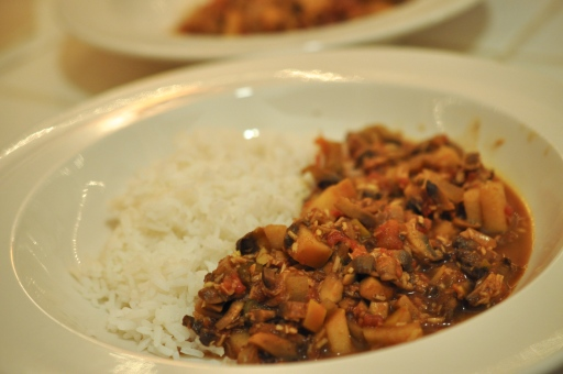 Mollie Katzen Moosewood Cookbook's Mushroom Curry