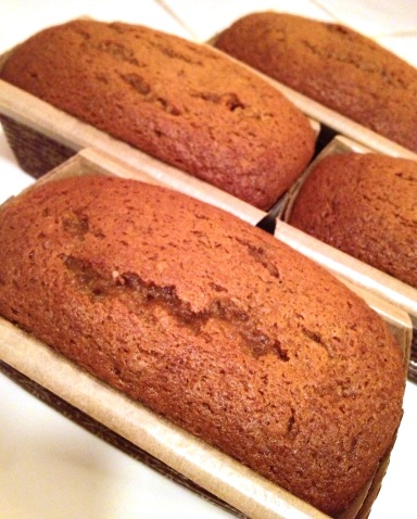 Pumpkin Ginger Bread