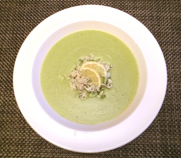 Crab & Avocado Soup
