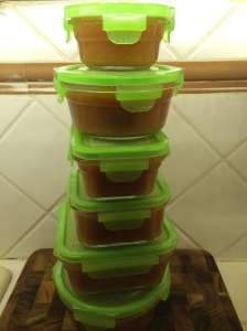 Homemade Apple Sauce Tower of Power